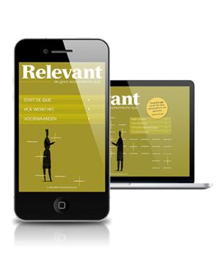 Vormconcept, Functioneel Ontwerp & Uitwerking In 2011 kreeg het magazine Relevant op verzoek van ABN AMRO een digitale aanvulling in de vorm van de Groot Economische Quiz.... kijk verder →